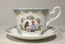 Roy Kirkham HRH Prince George Breakfast Cup Suacer Commemorative Birth