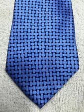 CHARTER CLUB MEN'S TIE BLUE DESIGN 61 X 4 NWOT