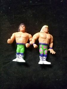 1991 Hasbro WWF Tag Team The Rockers Figures Shawn Michaels & Marty Jannetty