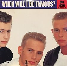 """THE BROTHERS (BROS) """"WHEN WILL I BE FAMOUS?"""" 12"""" 1988"""