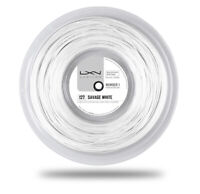 Wilson Luxilon Savage White 1.27mm 12.2m 16gauge Tennis String Poly WRZ994400