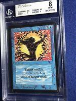 MTG BETA Spell Blast C B 9.5, 9 BGS 8 NM-MT 1993