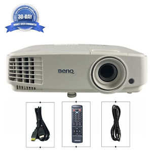 BenQ MX525A DLP Projector Portable 3300 ANSI Home Theater Video HDMI w/Remote