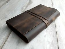 Leather Book Cover Leather Journal Case Journal Cover Notebook Case Bible Cover