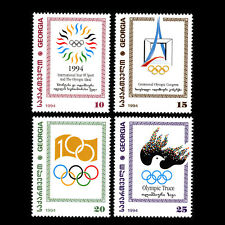 Georgia 1995 - 100th Anniv. of the International Olympic Committee - Sc 96/9 MNH