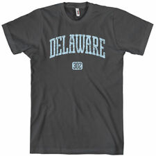 DELAWARE T-shirt - Area Code 302 - Wilmington Dover Blue Hens - NEW XS-4XL