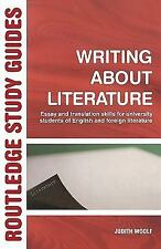 Writing About Literature: Essay and Translation Skills for University Students o