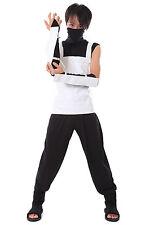 Naruto Cosplay Costume Shippuden Hatake Kakashi Anbu Black Ops Outfit V1 Set