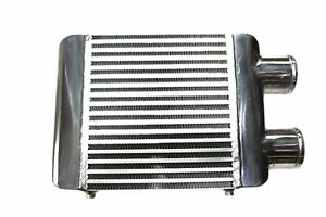 """Cooling Pro Bar & Plate Intercooler - 280 x 300 x 76mm (3.0"""" Dual Same Side Outl"""