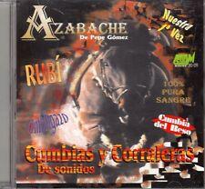 Azabache de Pepe Gomez Cumbias y Corraleras de Sonidos CD No Plastic Seal