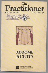 THE PRACTITIONER ed. italiana n. 16 aprile 1979