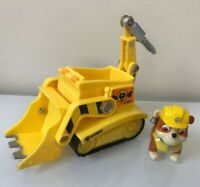 Paw Patrol Rubble's Digg'n Bulldozer works with Patroller Complete / EUC