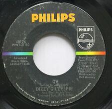 Jazz 45 Dizzy Gillespie - Ow / Groovin' High On Philips