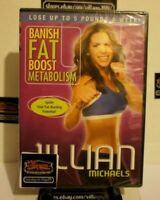 Jillian Michaels - Banish Fat Boost Metabolism (DVD) NEW! FREE SHIPPING!
