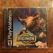 Digimon World  (Sony PlayStation 1, 1997) Complete CIB PS1 Game Great Shape