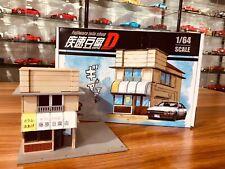 1:64 YumeBox Initial D Takumi Fujiwara Tofu Shop Display Model Kit Set