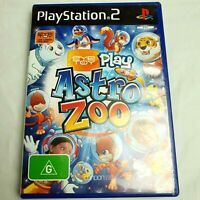 PS2 Playstation 2 PAL Game Eye Toy Play Astro Zoo with Manual