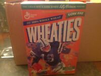 1995 Leroy Neiman Johnny Unitas Wheaties Unopened Box