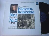 8434) LP - Liszt - Klavierkonzerte Nr. 1 und 2 - Lang - Adolph - Saphir -120.879