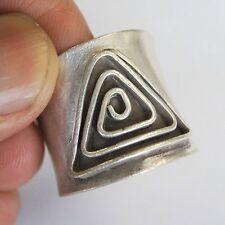 Ring Us=9 Uk=R .Adjustable. Karen Hill Tribe Pure Silver