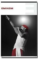 Eminem Live Wearing Red Cap Poster Print 22x34 New Free Shipping