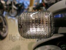 Schwarze Blinker Gläser MZ Baghira Supermoto 125 RT Striker smoked signal lens