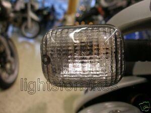 Black Indicator Glasses Mz Baghira Supermoto 125 Rt Striker Smoked Signal Lens