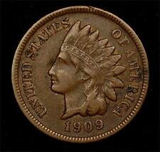 1909-S Indian Cent:  very nice VF example, key date