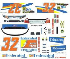 #32 Kenny Schrader FEDERATED Auto Parts 2012 1/32nd Scale Slot Car Decals
