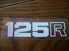 HONDA XL 125 R SIDECOVER DECALS