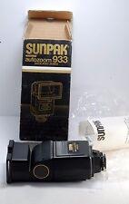 New Sunpak 933 Dedicated/Automatic Flash for Pentax New In Box w Manual