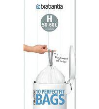 120 Stk. brabantia Müllbeutel 50-60 L optimal für Wesco Pushboy Abfallbeutel