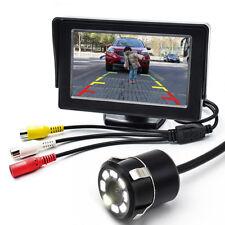 170° 8LED Nachtsicht Rückfahrkamera & 4.3 Zoll LCD Display Video System Monitor