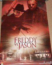"2003 Freddy vs Versus Jason Movie Poster - Scorpio #908 23 x 35"" Scarce"