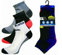 12 Pairs Trainer Socks Unisex For Pro Hike Gym Sports Cotton Blend UK 6-11 Size