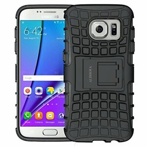 Galaxy S7 Case,ALDHOFA Heavy Duty Shock Proof Phone Case, Dual Layer Protecti...