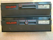 Soligor 8 x 10 Double Store 'N Feed 2 Drawer Darkroom Dispenser Paper Safe