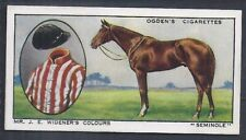 OGDENS-PROMINENT RACEHORSES OF 1933-#42- TOP QUALITY HORSE RACING CARD!!!