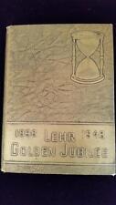 1948 Lehr Golden Jubilee Yearbook North Dakota 1898 to 1948