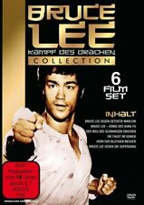 6 Películas Bruce Lee - LUCHA Des Drachen Colección Oriental DE CULTO Caja DVD
