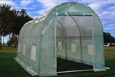 Green Garden Hot House Walk In Greenhouse 15'x7'
