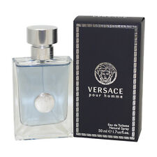 Versace Pour Homme Cologne for Men By Gianni Versace Eau De Toilette Spray 1.7oz