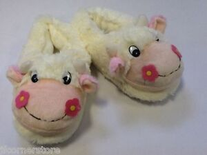 LOVELY QUALITY LADIES/GIRLS CUTE COW SLIPPERS- SO WARM & COMFORTABLE