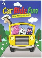 Car Ride Fun: Sing- Along Songs + Cartoons (DVD) Buy 10 Free Shipping!!