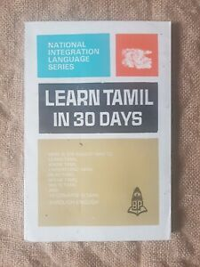 Learn to Speak Tamil Indian Language in thirty days.