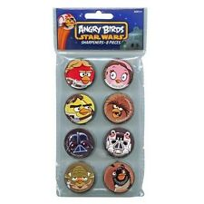 ANGRY BIRDS STAR WARS 8 DIFFERENT ANGRY BIRDS STAR WARS PENCIL SHARPNERS-NEW!