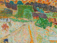 Pierre Bonnard View From The Artist'S Studio Giclee Canvas Print Poster