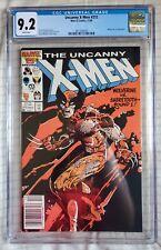 Uncanny X-Men #212 (Marvel, 1986) - CGC 9.2 - 1st Wolverine vs. Sabretooth!