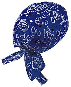 Bandana Head Wrap Skull Cap Do Rag Motorcycle Doo Du Dew Chemo Hair Scarf Cotton