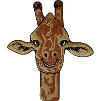 Giraffe Patch Iron Sew On Clothes Embroidered Badge Animal Embroidery Applique